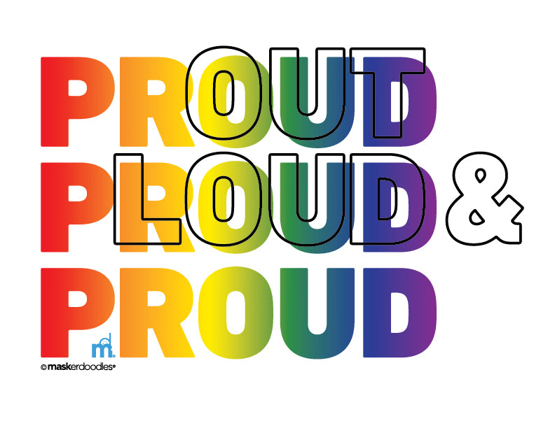 PRIDE Out Loud & Proud T-shirt