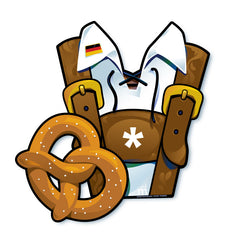 Oktoberfest Lederhosen Photo Prop