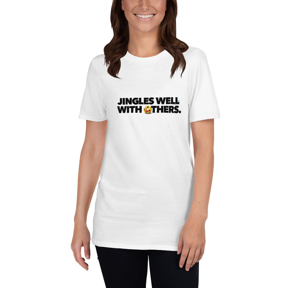 "Holiday ""Jingles Well"" Bell Staple T-Shirt"