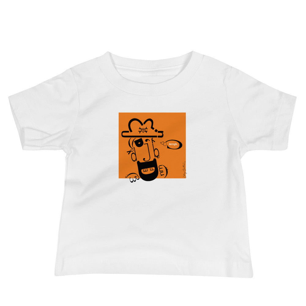 Pete the Pirate Baby Jersey Short Sleeve Tee