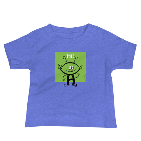 Alfie the Alien Baby Jersey Short Sleeve Tee