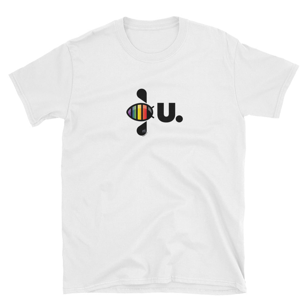 PRIDE Bee U Chest T-shirt
