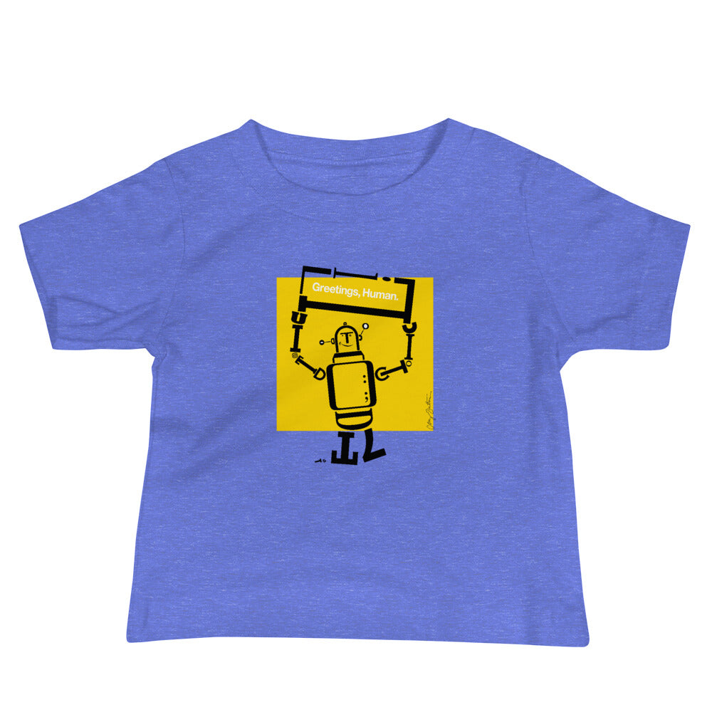 Ruben the Robot Baby Jersey Short Sleeve Tee