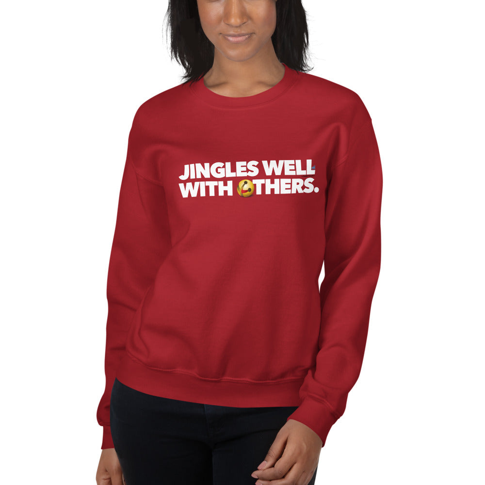 "Holiday ""Jingles Well"" Bell Premium Sweatshirt"