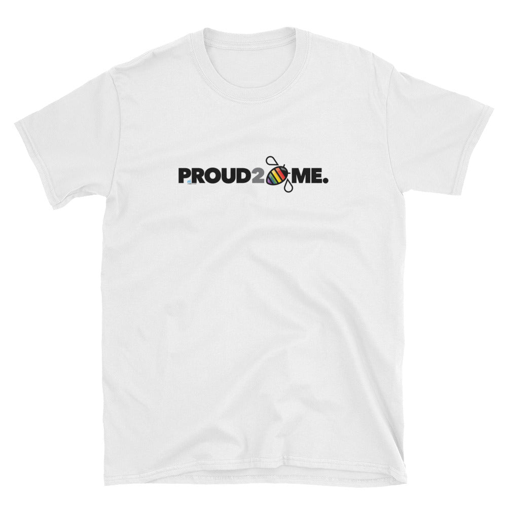 PRIDE Proud 2 Bee Me Horizontal T-shirt