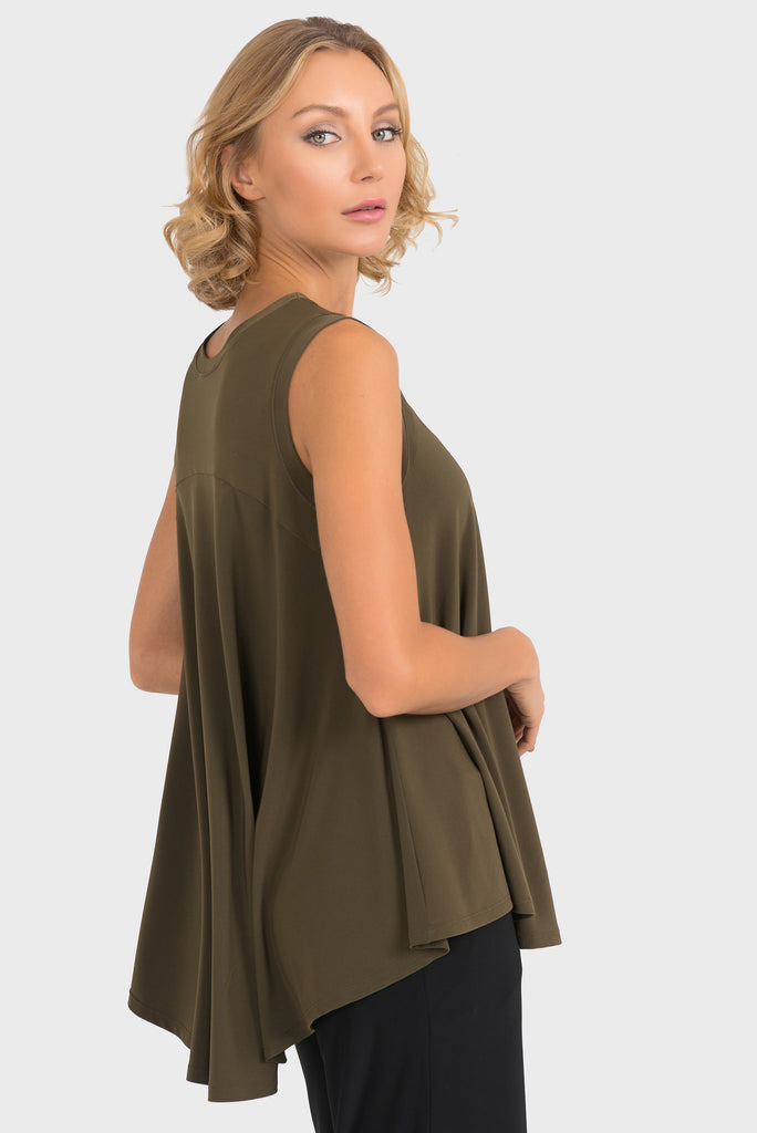 193130 Sleeveless ALine Tunic