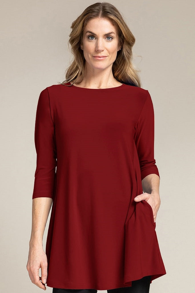 Trapeze Tunic, 3/4 Slv - Fall '20