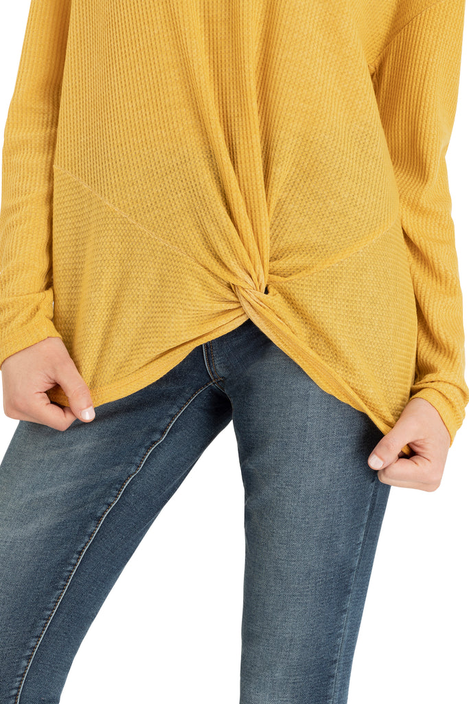 Twisted Long Sleeve Top