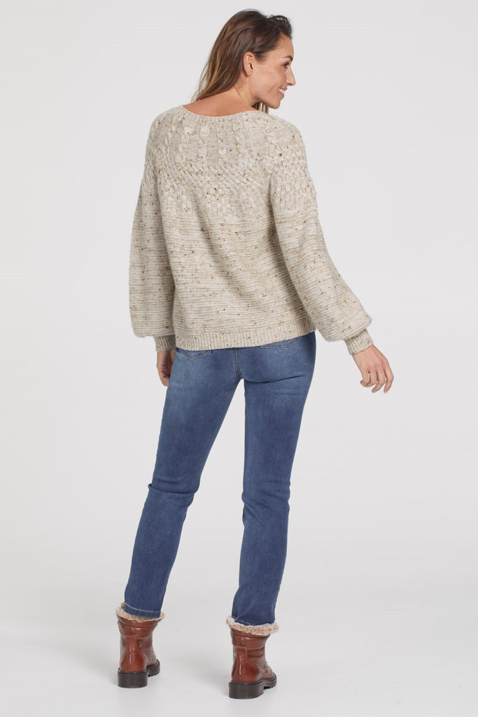 Cable Neck Sweater