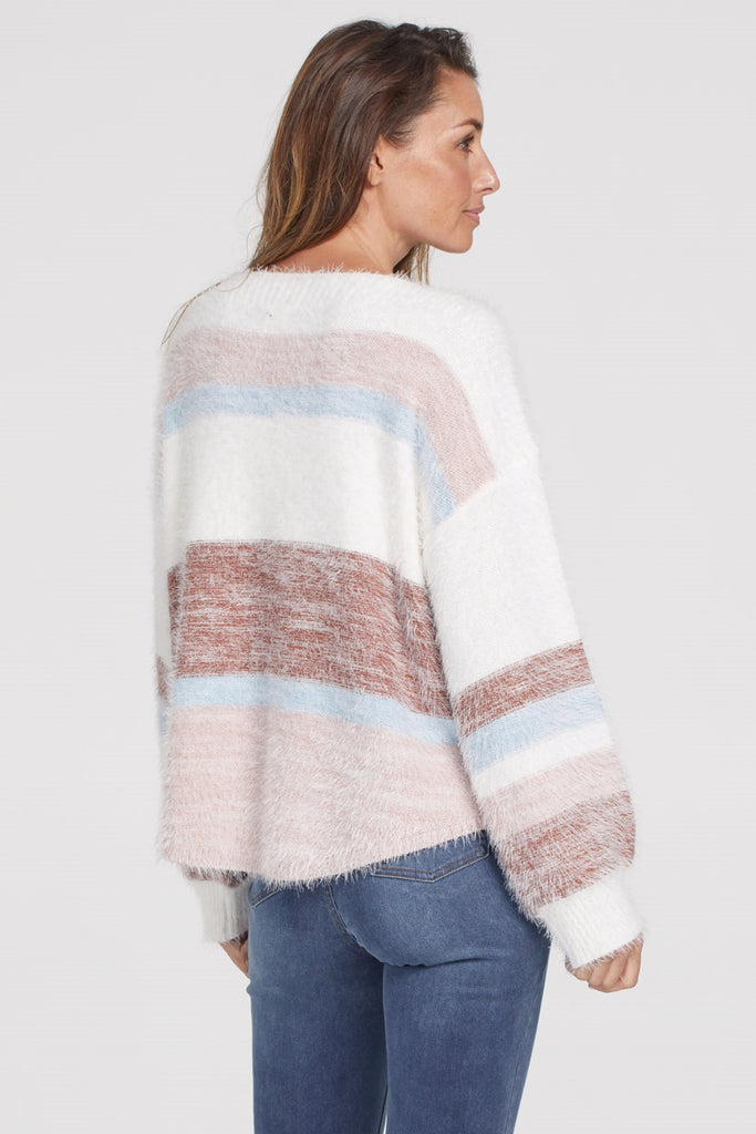 Dropped Sleeve Sweater