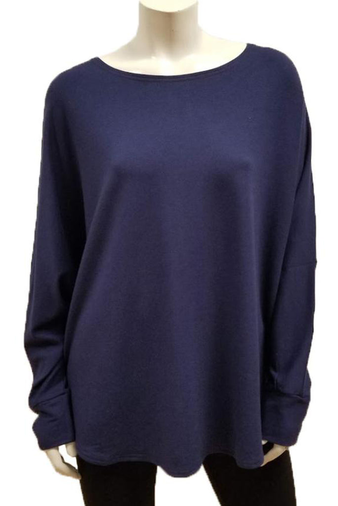 Bamboo French Terry Shirttail Sweatshirt (One Size)