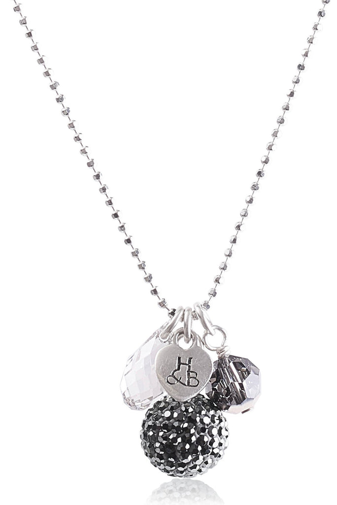 Sparkle Ball™ Necklace Cluster HEMATITE