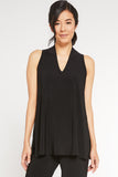 Sleeveless Deep V Tunic