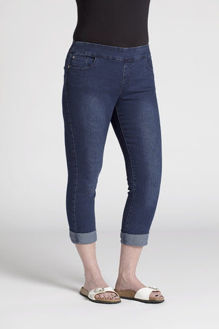 Alissa Full Figure Pull-On Jean