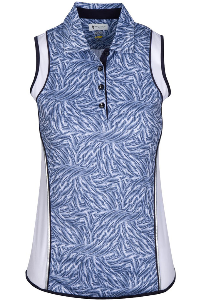Ariel Sleeveless Polo
