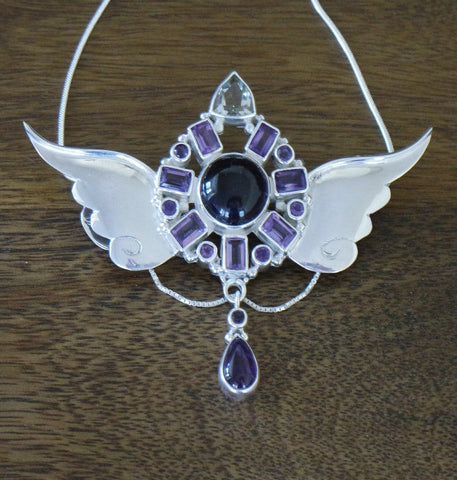 Archangel Medina Pendant with Sterling Silver Chain