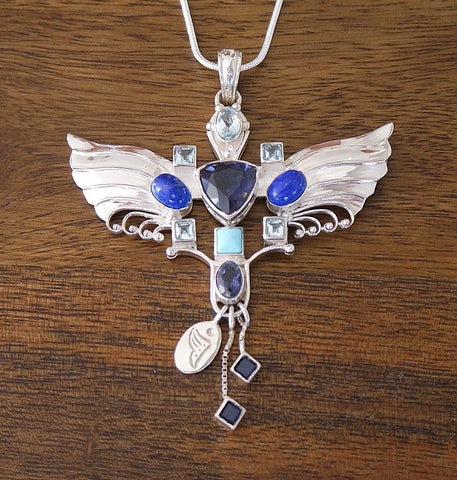 Archangel Michael Pendant with Sterling Silver Chain