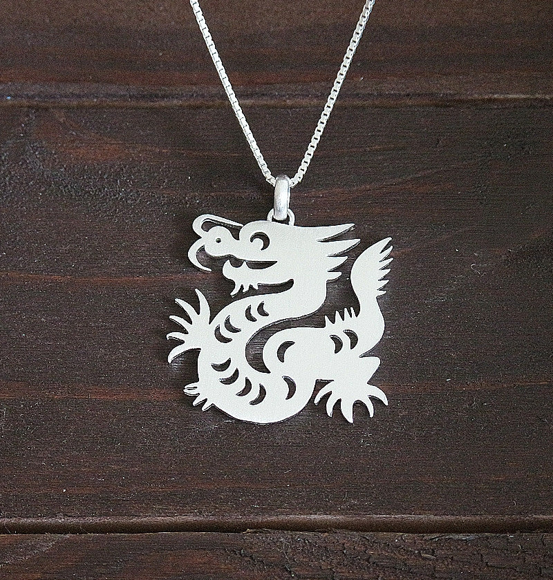 tag zodiac pendant necklace engravable chinese dog