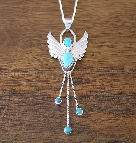 'Confidence' Guardian Angel Pendant with Sterling Silver Chain