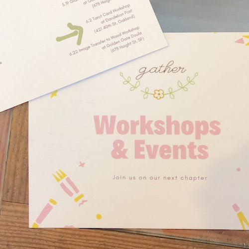 Workshops by gather