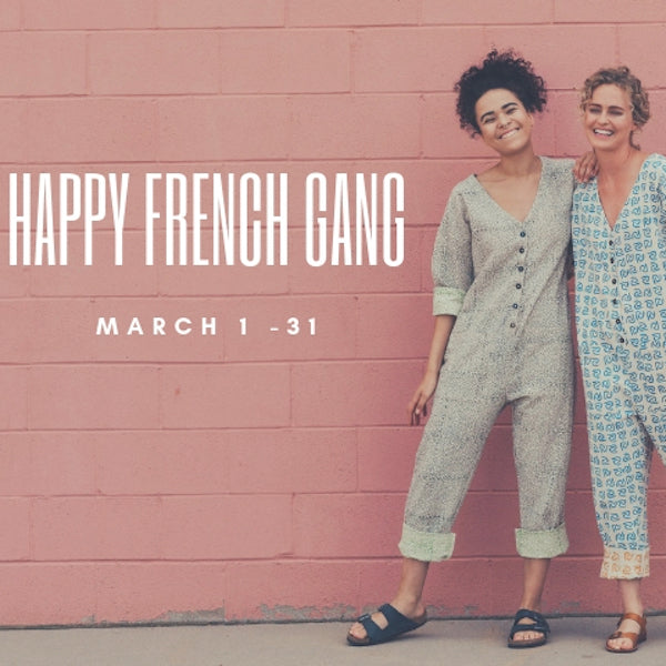 Pop-up with Happy French Gang