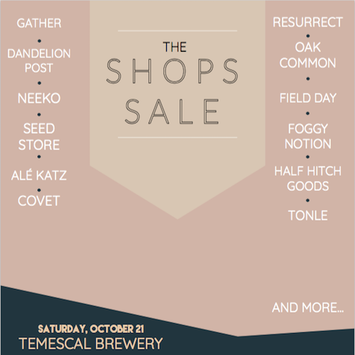 The (Fall) Shops Sale