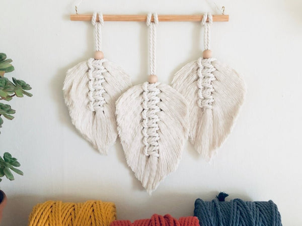 Gather Workshop - Macrame Feathers