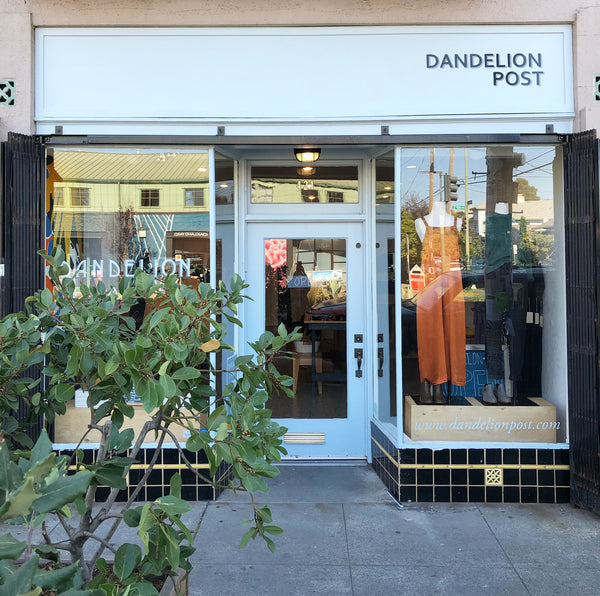 Dandelion Post Oakland California clothing boutique