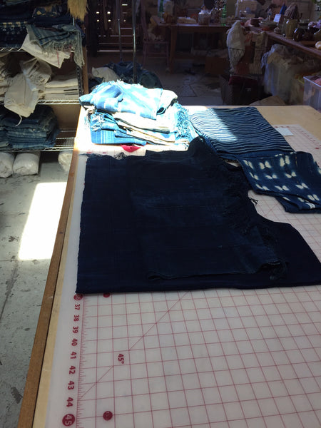Mira Blackman Studio - Indigo top pattern