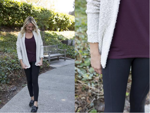 Make it Good Pebble knit cardigan
