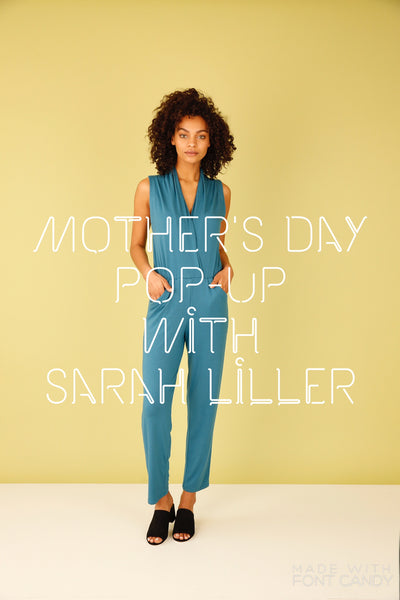 Mother's Day pop-up with Sarah Liller