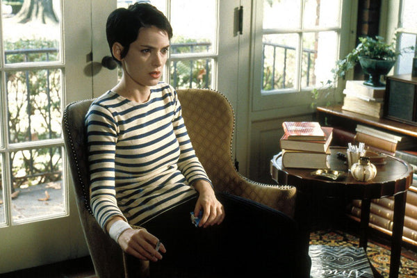 Winona Ryder - Girl Interrupted - striped shirt