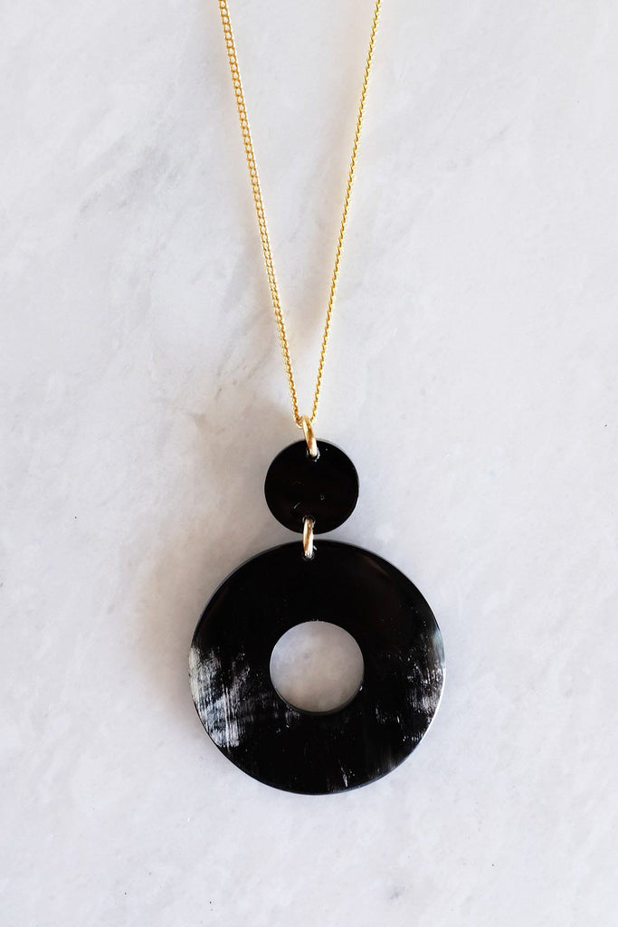 Hoan Toan Necklace - Dark - Dandelion Post