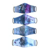 3rd Season double lined cloth face masks -  ice dye print