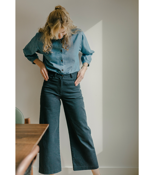 Navy Toni Pants - Dandelion Post