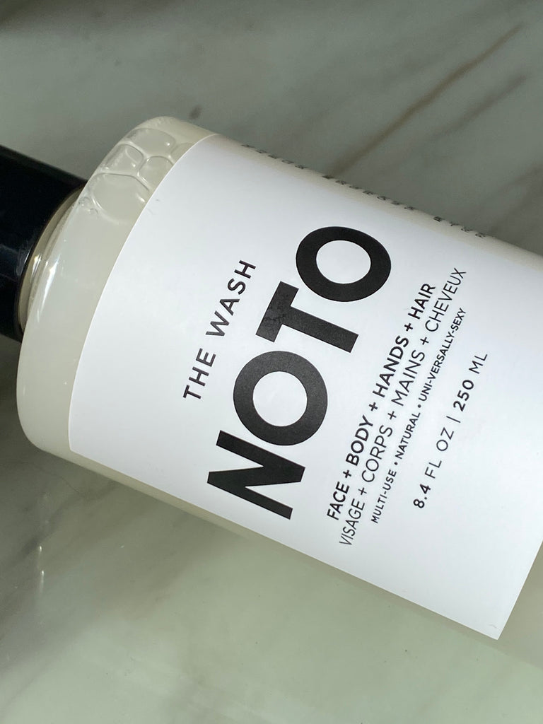 NOTO brand gentle face, body, hand, and hair wash