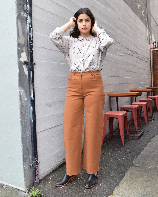 Tan Toni Pants - Dandelion Post