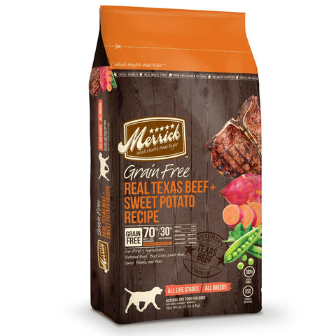 Merrick Grain Free Real Texas Beef & Sweet Potato