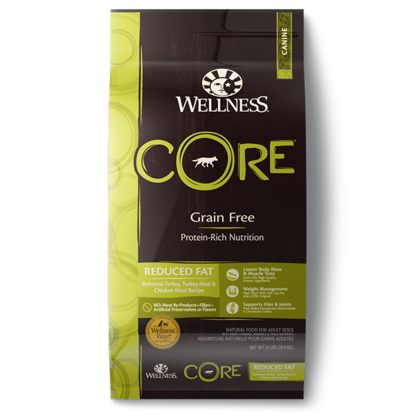 Wellness CORE Grain Free - Reduced Fat Formula (26 lb)