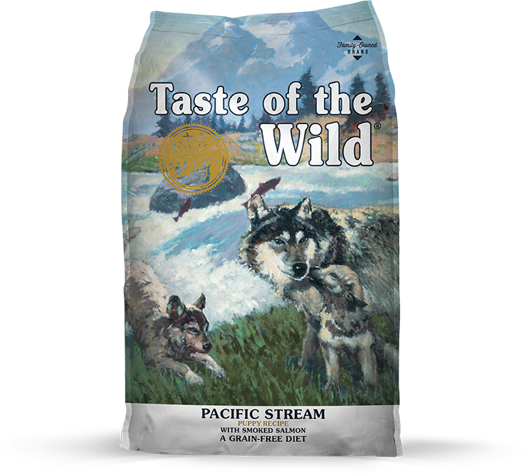 Taste of the Wild - Stream Puppy Recipe (with Smoked Salmon)