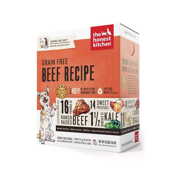 The Honest Kitchen - Dehydrated Grain Free Beef Recipe (Love)