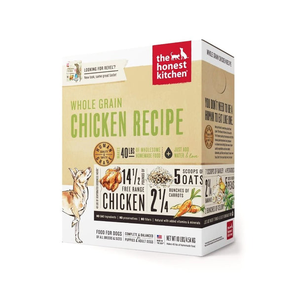 The Honest Kitchen - Dehydrated Whole Grain Chicken Recipe (Revel)