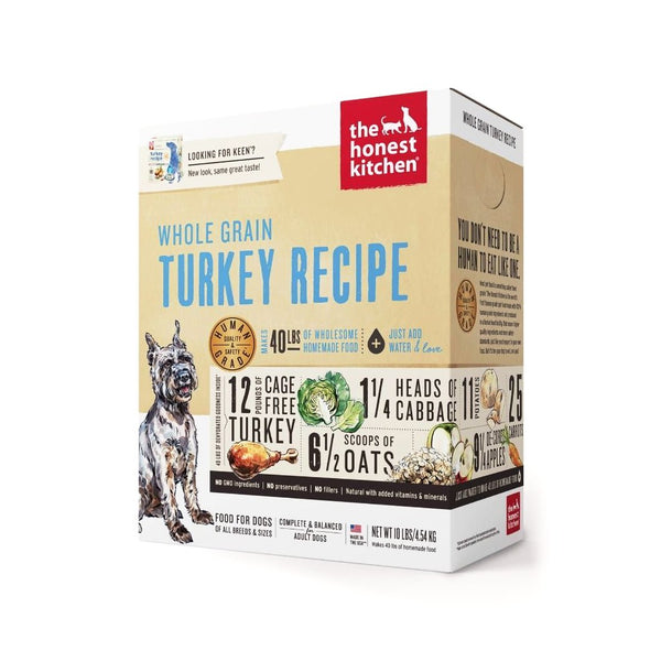 The Honest Kitchen - Dehydrated Whole Grain Turkey Recipe (Keen)