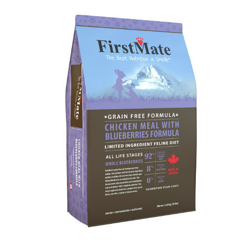 FirstMate - Grain Free Chicken with Blueberries Cat Food (4 lb)