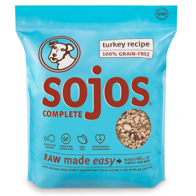 Sojos Turkey Complete Dog Food