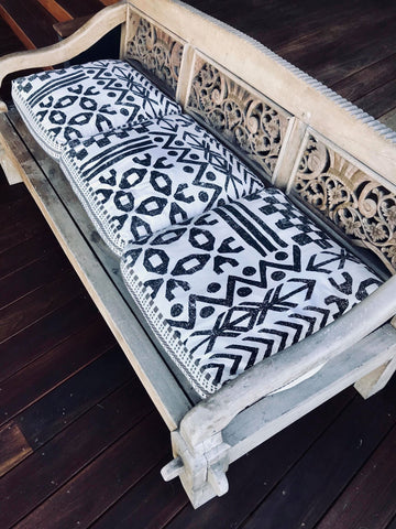 Barra Crescent Interior Styling Day Bed Alfresco area cushions