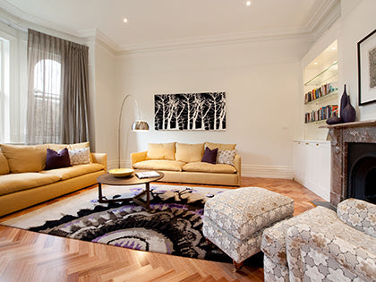 South Yarra Residence Casual Living Area 1
