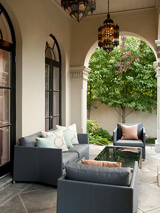 South Yarra Residence Outdoor Entertaining Area