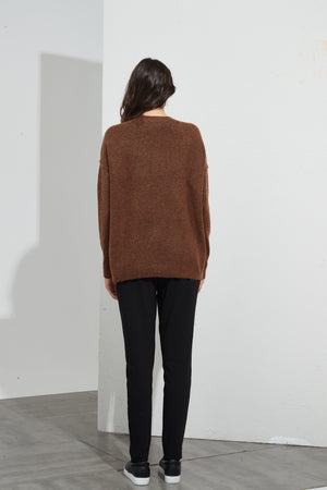 Split Hem Knit Bark