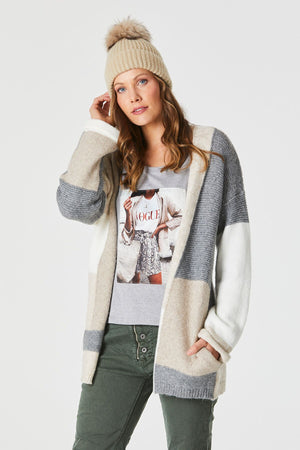 Light My Fire Cardi -  Charcoal - OS